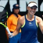 Melbourne   Wozniacki storms into quarters to face Suarez Navarro