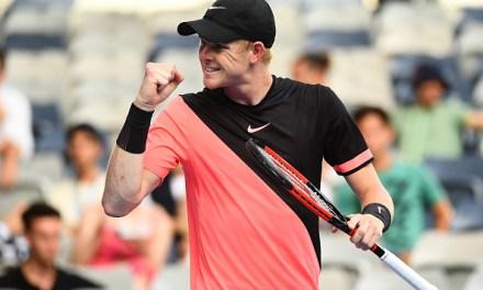 Melbourne | Edmund keeps going
