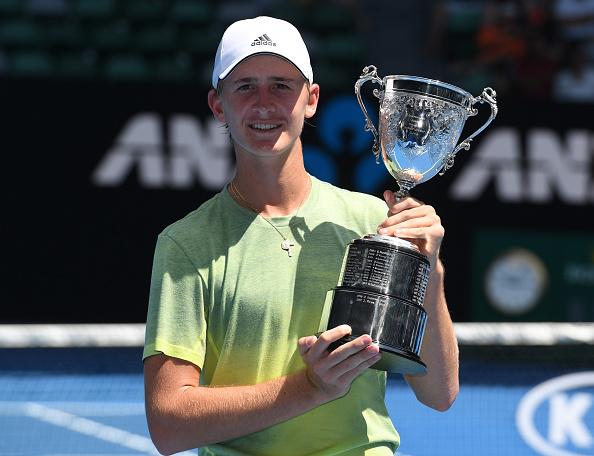 Melbourne   Korda follows Dad to Junior AO win