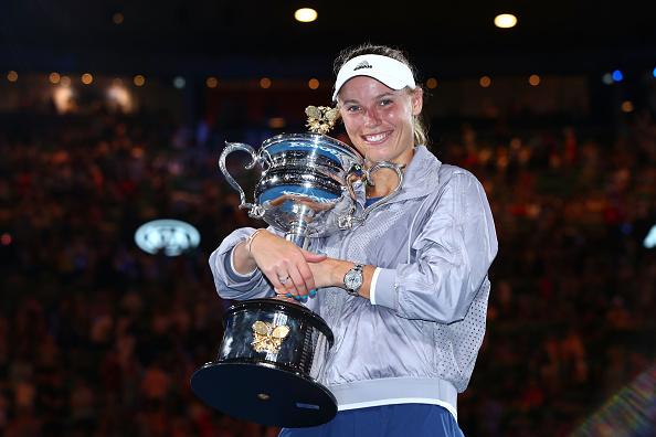 Melbourne   Woz wins maiden Grand Slam title!