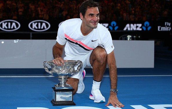 Melbourne | Federer hits the 20 mark