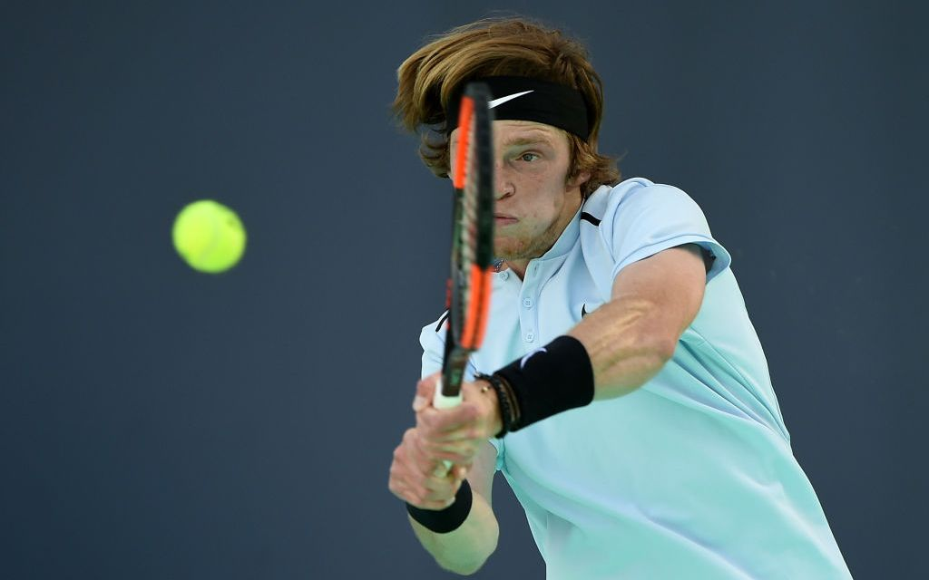 Doha   Rublev to face Monfils in final