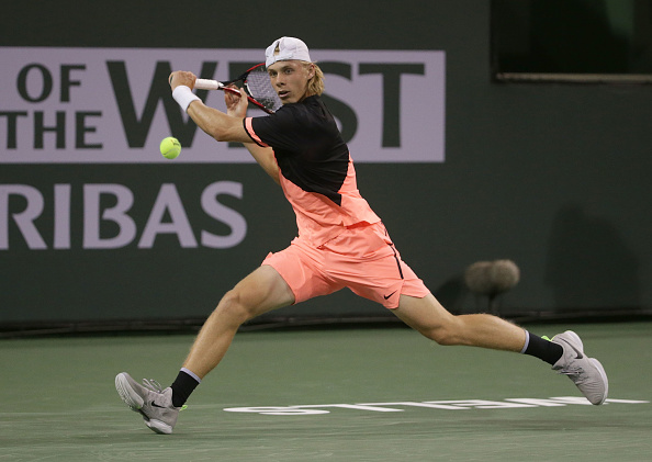Indian Wells   Shapovalov makes a succesfull debut