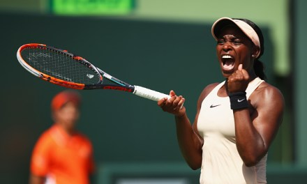 Miami | Stephens blasts into final