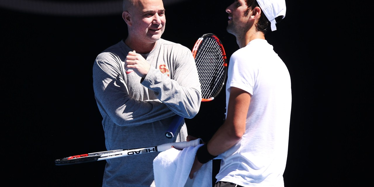 Las Vegas | Agassi leaves Djokovic Team