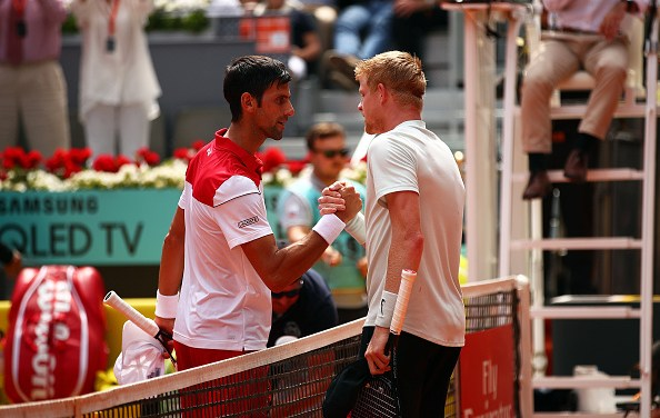 Madrid Open | Kyle Edmund beats Novak Djokovic
