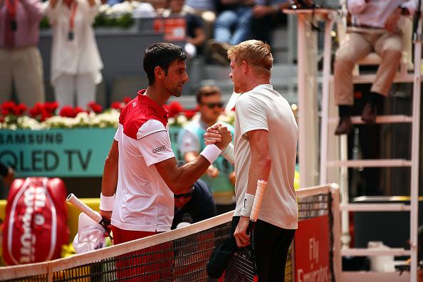 Madrid Open | Kyle Edmund beats Novak Djokovic