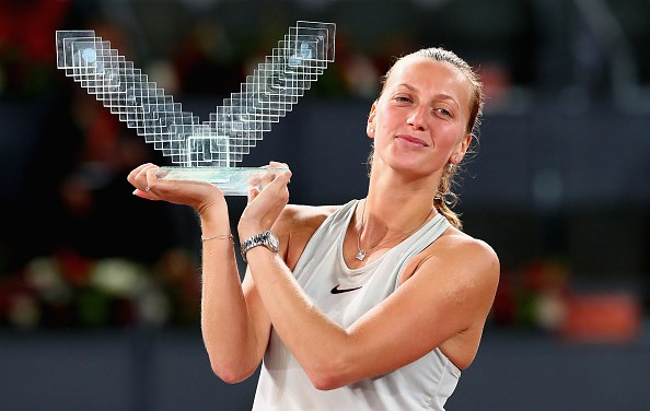 Madrid Open | Petra Kvitova wins record third title