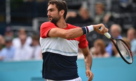 Queen's | Cilic recovers in battle of aces