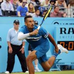 Queen's | Kyrgios in menacing form
