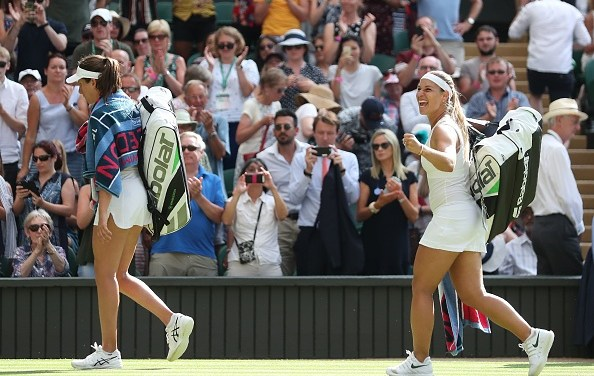Wimbledon | Konta downed by the 'Pocket Rocket'