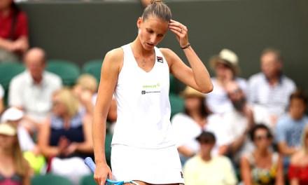 Wimbledon | Pliskova now crashes out