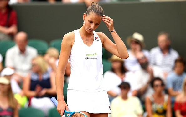 Wimbledon | Pliskova now crashes out