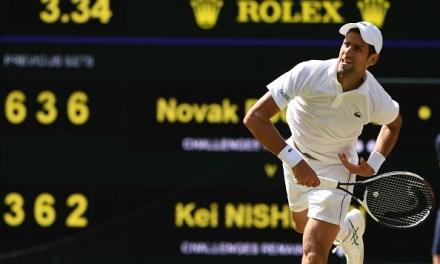Wimbledon   Djokovic first into semis