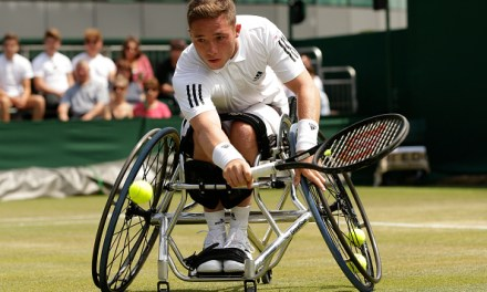 Wimbledon   Alfie Hewett into wheelchair semis