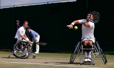 Wimbledon | Hewett and Reid reach third doubles wheelchair final
