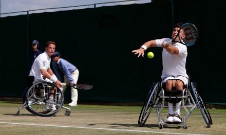 Wimbledon   Hewett and Reid reach third doubles wheelchair final