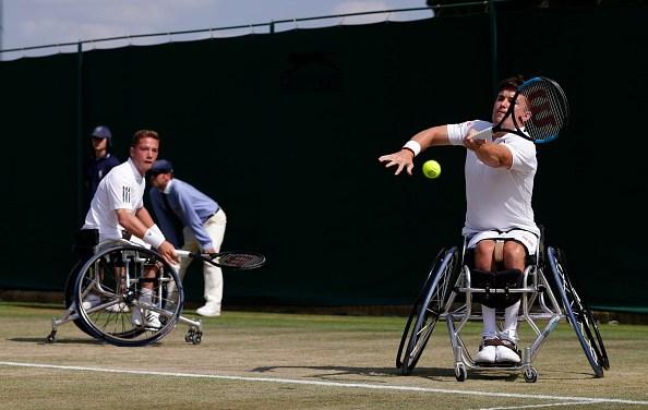 Wimbledon | Hewett and Reid reach third doubles wheelchair final