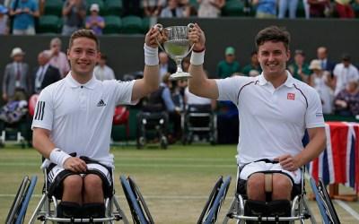 Wimbledon   Hewett and Reid complete Wimbledon wheelchair hatrick