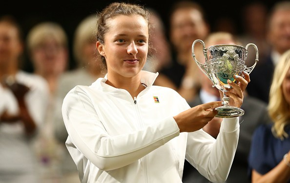 Wimbledon Juniors | Swiatek lifts Girls title