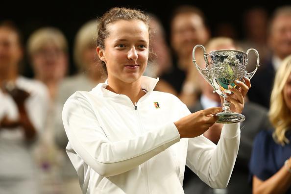 Wimbledon Juniors | Swiatek lifts Girls title