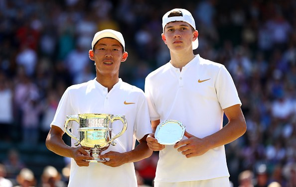 Wimbledon Juniors | Draper loses out to Tseng Chun Hsin