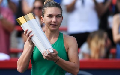 Montreal   Halep picks up the Rogers Cup
