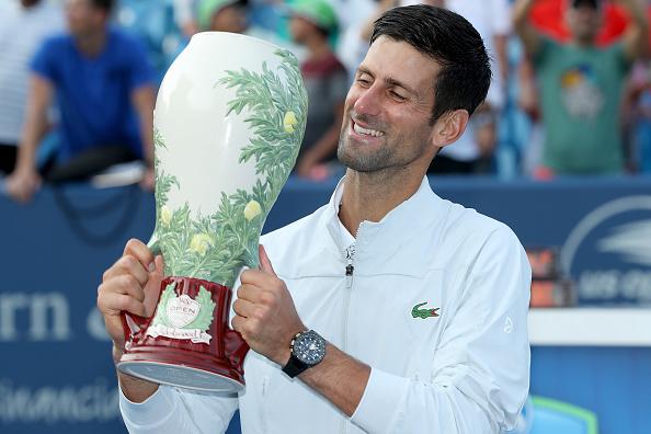 Cincinnati   Djokovic fulfills his ambition