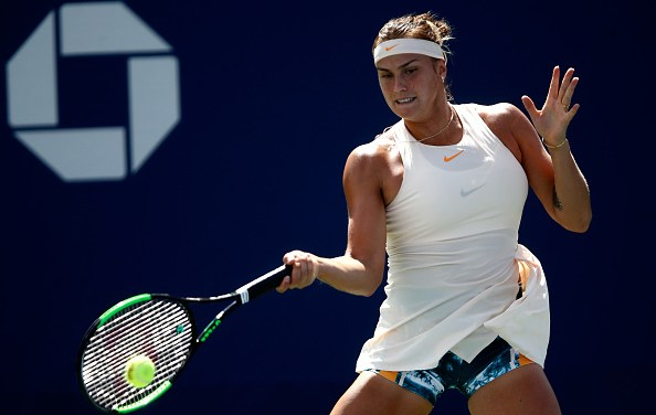 US Open   Belarusians Sabalenka and Sasnovich lead charge into R3