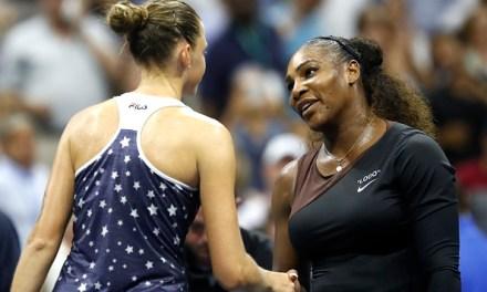 US Open   Serena powers past Pliskova