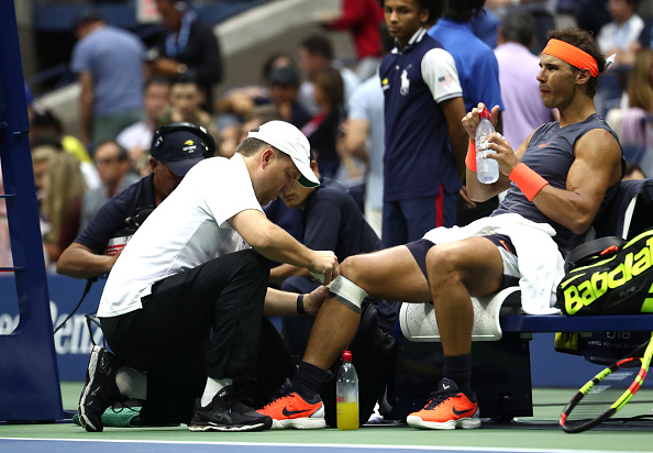 US Open   Rafa retires – DelPo and the Djocker reach final
