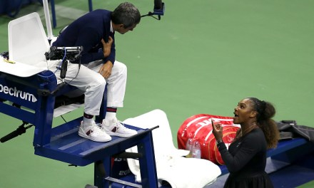 US Open   Time for Serena to say sorry
