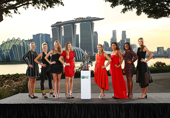 Singapore | Wozniacki lines up with the challengers for her title