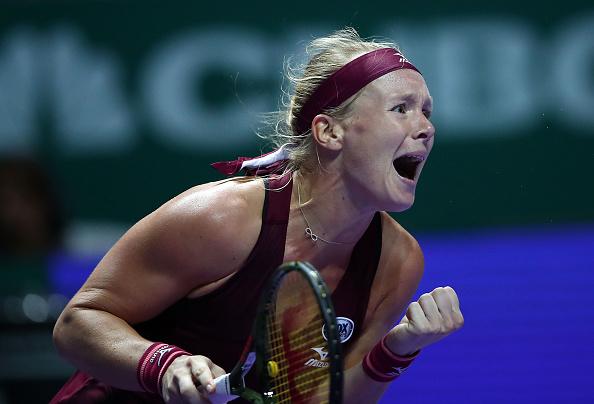 Singapore   Bertens beats Kerber in fourth underdog fightback