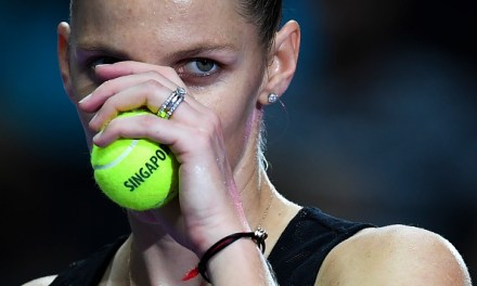 Singapore   Pliskova advances into semis