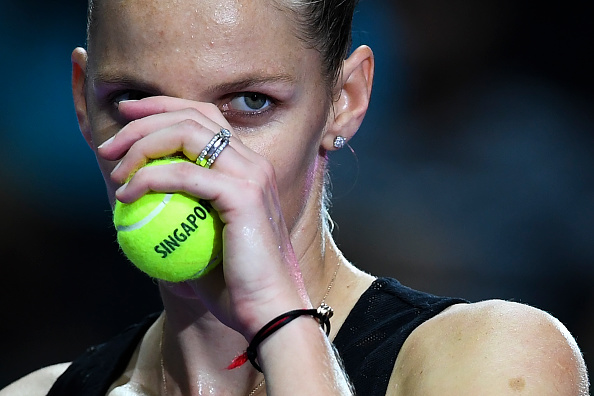 Singapore | Pliskova advances into semis