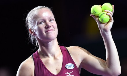 Singapore | Bertens sneaks semi-final slot