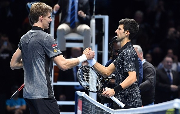 London | Djokovic out aces Anderson