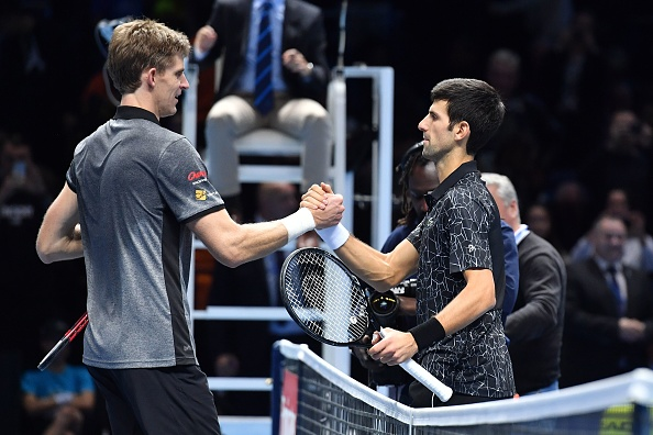 London   Djokovic out aces Anderson