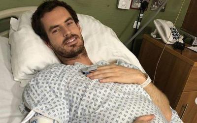 London   Andy Murray has hip resurfacing surgery
