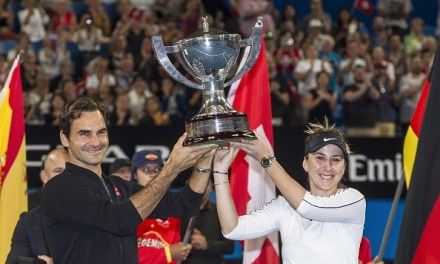 Perth   Federer and Bencic retain Hopman Cup