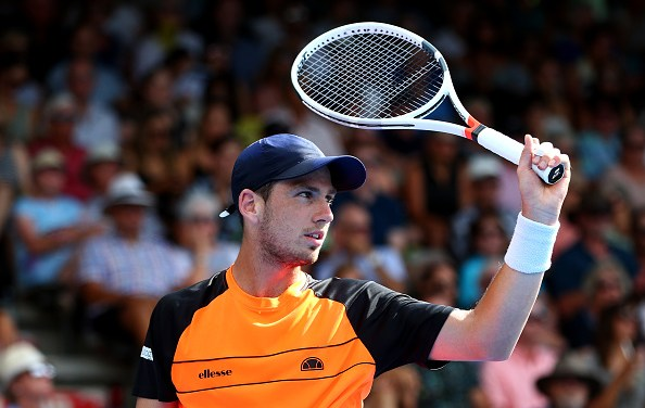 Auckland | Norrie through to final
