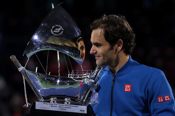 Dubai | Federer hits his ton