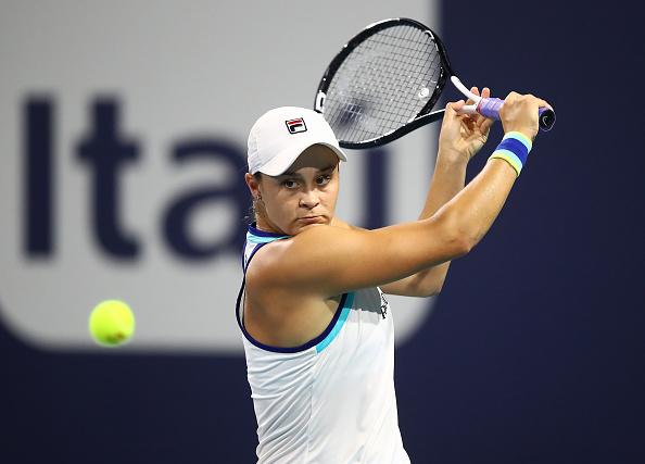 Miami   Barty finally beats Kvitova