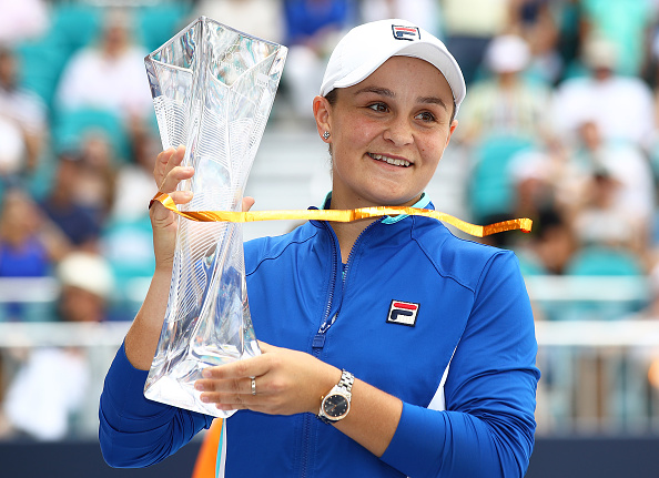 Miami | Barty blasts to the title and into the top ten