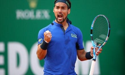 Monte Carlo   Fognini downs Zverev as more seeds tumble