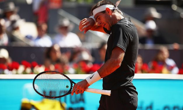 Live | Madrid | Del Potro vs Djere