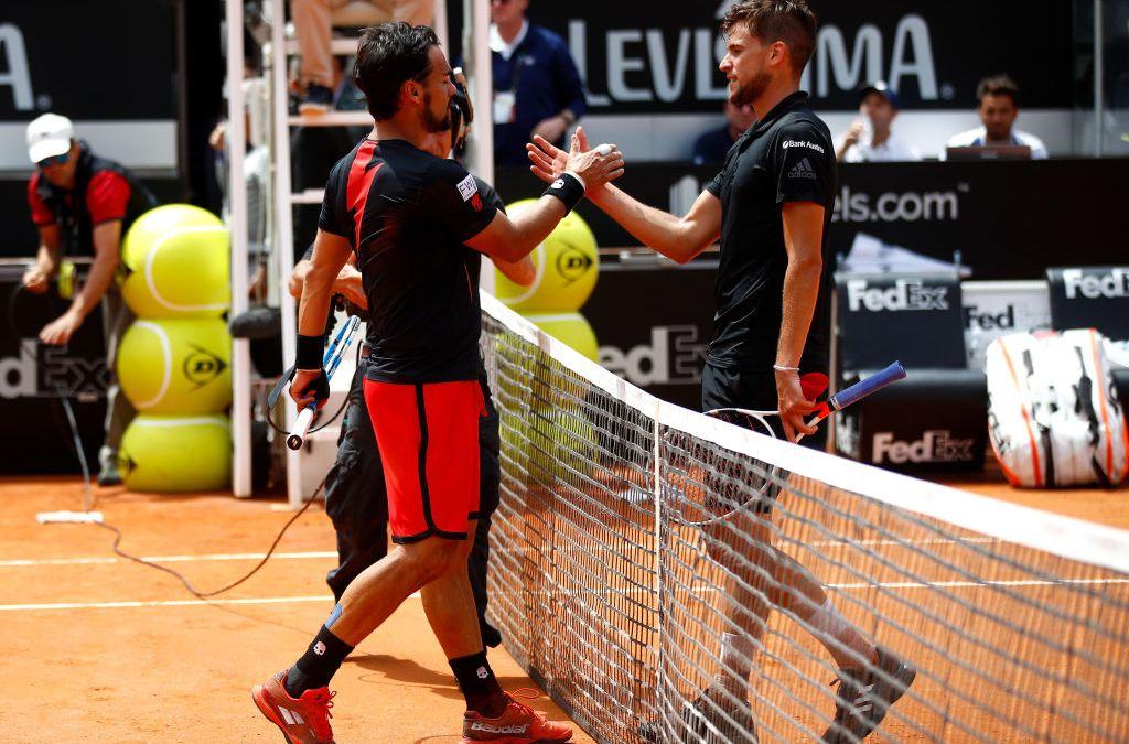 Live   Madrid   Thiem vs Fognini