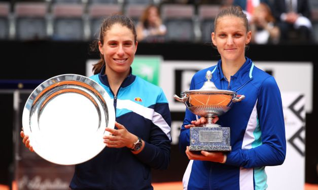 Rome | Pliskova defeats Konta to claim the crown in the Italian capital