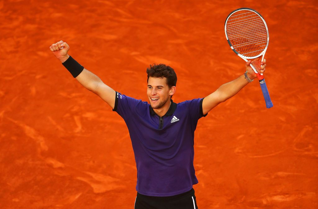 Madrid | Thiem saves match points to beat Federer